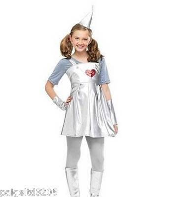 Totally Ghoul Wizard of Oz Tin Gal Girl's Halloween Costume Small 4-6  - Tin Girl Halloween Costume