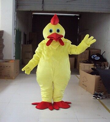 Halloween Funny Chicken Mascot Adult Fancy Costume Party Advertising Christmas (Funny Halloween Advertising)