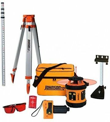 Rotary Laser Level System Self Leveling Johnson Tool 99 006k Horizontal Vertical
