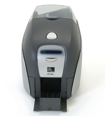 Zebra P110i Color ID Badge ID Card Printer 90 Day Warranty & Tech Support for sale  Shipping to South Africa