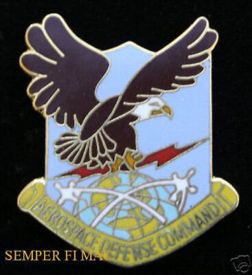 Aerospace Defense Command Hat Lapel Pin Us Air Force Norad Wing Gift Usaf Wow