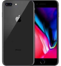 Iphone 8 plus 64gig unlocked boxed black