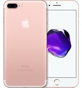 Looking for iPhone 7 Plus Rose Gold Good Condition