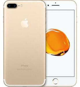 iPhone 7 Plus 256GB Gold UNLOCKED ( including Freedom / Chatr ) 10/10 condition $650 FIRM