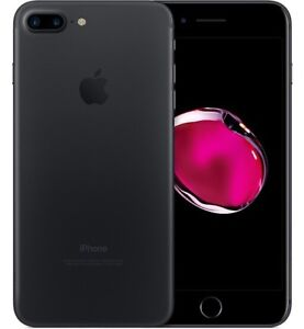 iPhone 7 Plus- 128 GB- Matte Black- 10 out of 10 Condition
