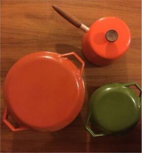 Vintage Danish COPCO Michael Lax Cookware