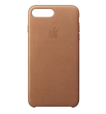 Genuine Apple iPhone 7 Plus Leather Case - Saddle Brown (MMYF2ZM/A) - New Other