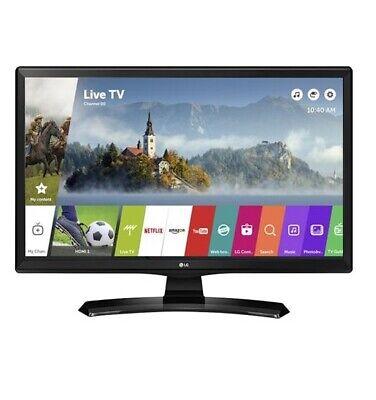 "Smart TV LG 28"" LED 28MT49S HD READY WXGA MONITOR DVB-T2 USB WebOS Wi Fi NERO"
