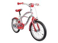 *New* Girl's One Direction Bike - Red/White, 16 Inch (5-7yrs)
