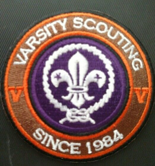 Varsity Scouting Since 1984 RING & World Crest - Private Issue Non BSA VR