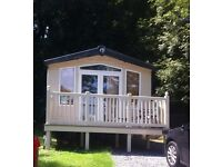 Swift Moselle Static Caravan 35ft by 12ft for sale located in Kiln Park Tenby. Lovely quiet location