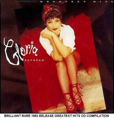 Gloria Estefan Very Best Greatest Hits Collection RARE CD 80's 90's Latino Pop