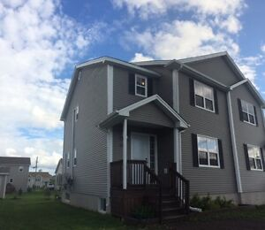 DUPLEX IN DIEPPE WITH EXTENDED DECK AND 2 MINI-SPLITS!!