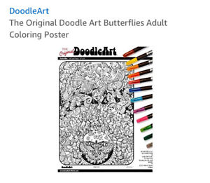 DoodleArt posters with markers