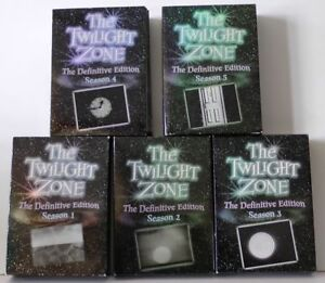 Twilight Zone DVD Box Set, Series 1-5 (1959-1964).