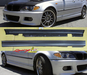 1999-2006 BMW E46 3 Series 2/4door M3 Side Skirts