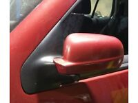 VW Golf Mk4 N/S Wing Mirror In Maroon Colour (2001)