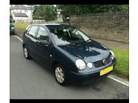 VOLKSWAGEN POLO PERFECT CONDITION** NEEDS TO GO ASAP!***