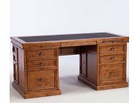 Antique Style Reclaimed Wooden Desk