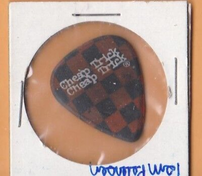 TOM PETERSSON CHEAP TRICK Guitar Pick...GO TO HELL pick