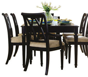 Full Size Dining Table and 6 Chairs