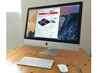 5K Slim Apple iMac 27' Quad Core i7 4Ghz 32Gb Ram 1TB SSD Logic Pro X Ableton 10 Final Cut Pro X
