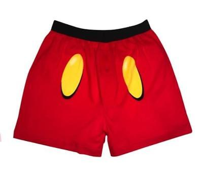 Disney MICKEY MOUSE Themed BOXERS ~  Men's S  M XL ~ NWT (Disney Boxers For Men)