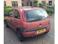 Excellent cheap first car. 1lt CORSA 2000