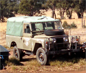 Land Rover 1969 Series 2A Navarre Pyrenees Area Preview