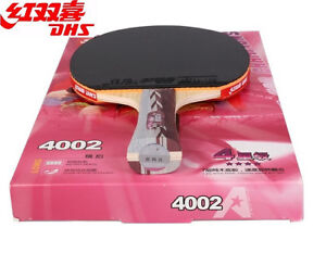 DHS TABLE TENNIS RACKETS AND OTHER ACCESSORIES