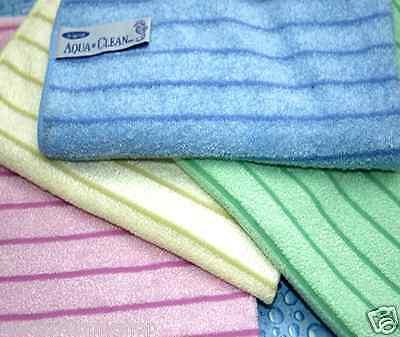 Aqua-Clean Hochleistungstücher mit Reinigungsstreifen 4-er Set