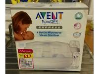 Microwave baby bottle steriliser