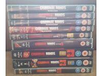 Criminal minds Seasons/Series 1-9 DVD Boxsets