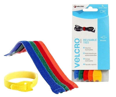 Velcro Cable Tidy 5 x Cable Ties One-Wrap 2mm x 20cm Velcro®...