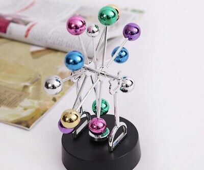Cosmos Asteroid Perpetual Motion Revolving Art Toy Kinetic Gift Desk Decoration