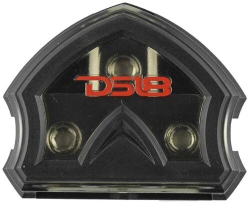 DS18 DB1030 POWER GROUND DISTRIBUTION BLOCK 1 0 GA IN 3  0 GAUGE OUT CAR STEREO