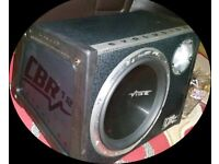 Vibe evo 12 subwoofer and amp 1600 watts