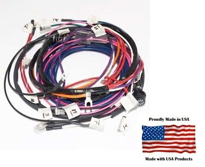 Complete Wiring Harness Allis Chalmers D17 D19 Diesel Series Iv With Generator