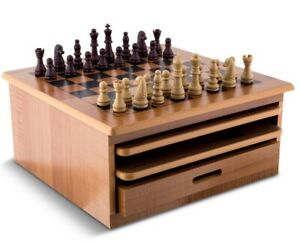 10-in-1 Wooden Board Game Set