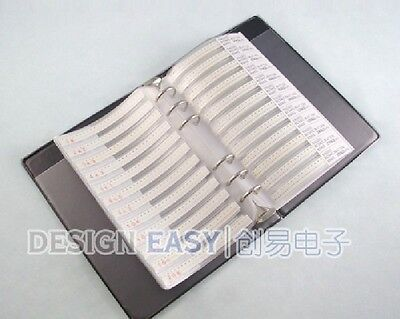0805 Smd 3025pcs Resistor And 700pcs Capacitor Sample Book Full Version Kit