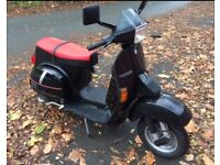Vespa Tx200 1989 full mot new tyres uk reg tx 200 not px or t5 scooter piaggio