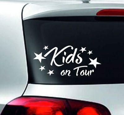 Baby Aufkleber Kids Sticker Autoaufkleber Baby on Board KIDS Kinder on Tour 62