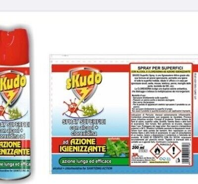 Skudo Spray Superfici Igienizzante 200ml