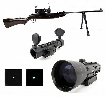 Rotpunktvisier/ Red Dot Sight Green Sportschützen Visier 2x42 EG 908-992