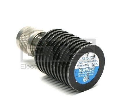 Huber Suhner 6515.17.a 50 Ohm 15 Watt Medium Power Rf N Type Plug Termination