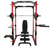 Complete Power Rack Package (Rack Weights Bench) - NEW IN BOX