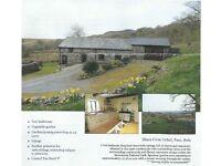 2 Bedroom Converted Barn in rural Snowdonia location