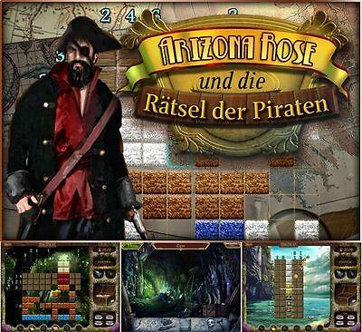 ⭐️ Arizona Rose und die Rätsel der Piraten - PC / Windows ⭐️ (Rose Windows)