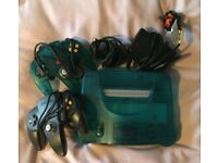 Nintendo 64 Console + Controllers, Memory Cards, Expansion Pak