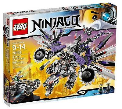 Lego Ninjago 70725 Nindroid Mech Dragon 691 Pcs New In Box